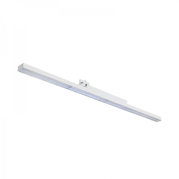 Continuous LED linear track light