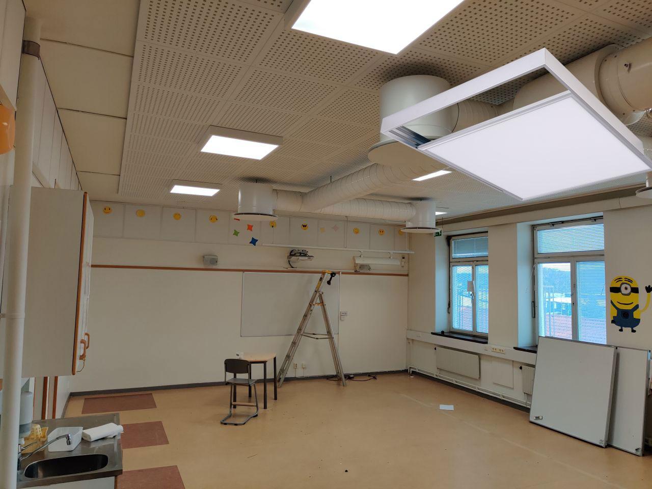 LED Panel Light Mounting Frame