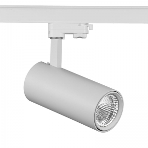 Moon series glare free LED track light